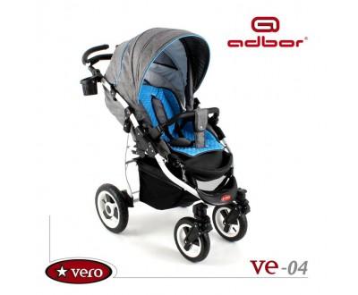 Детская прогулочная коляска Adbor Vero VE-04