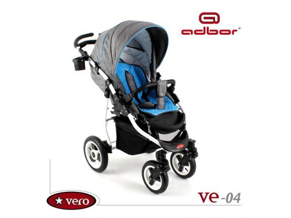 Детская прогулочная коляска Adbor Vero VE 04