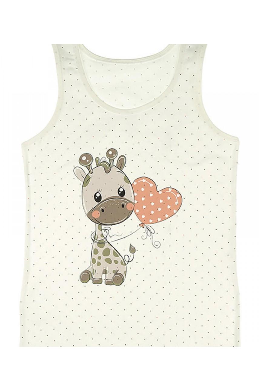 Детские майки для девочек Donella арт. 49606ZR