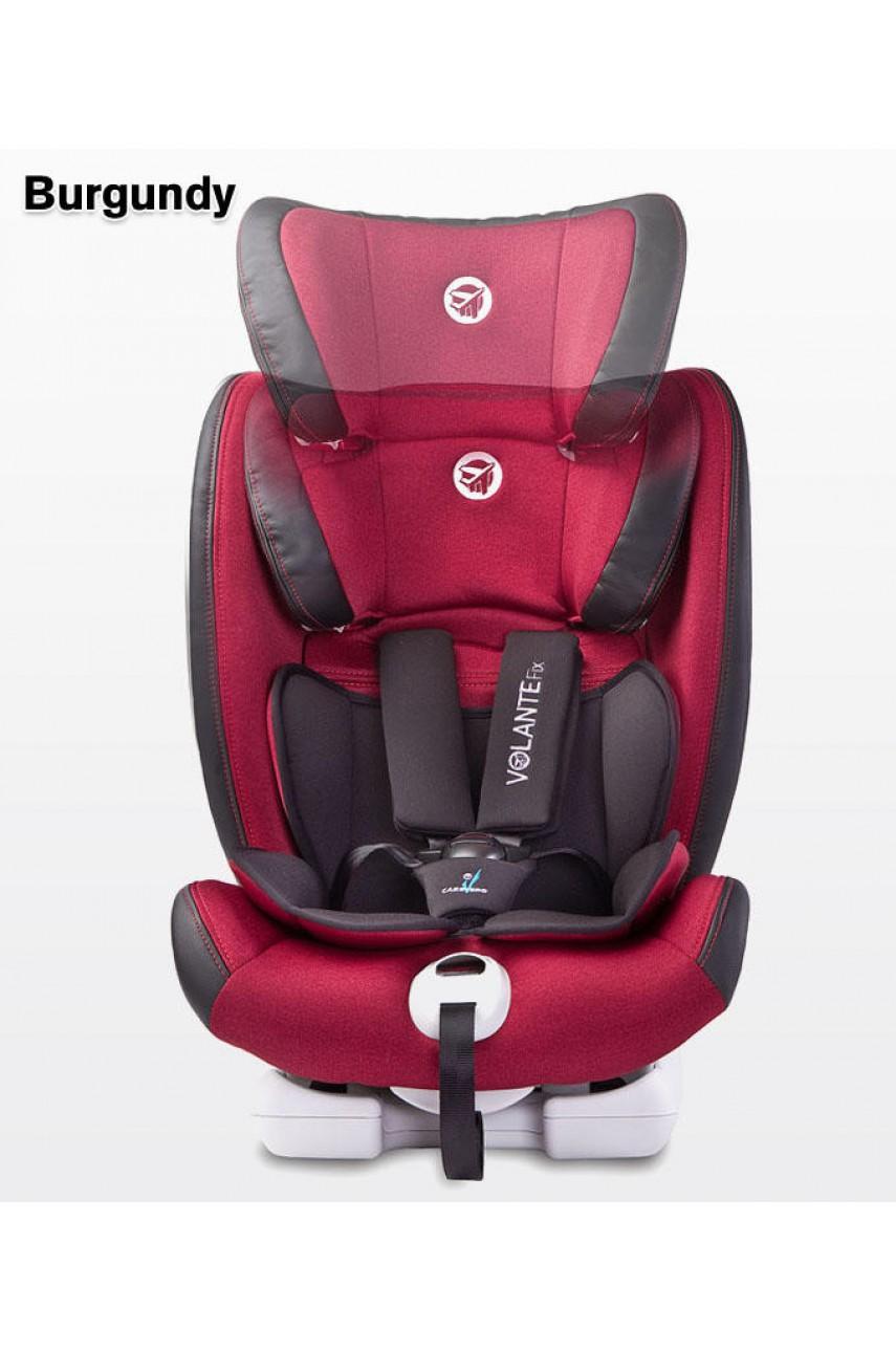 Детское автокресло Caretero VolanteFix Limited Isofix burgundy 9-36кг