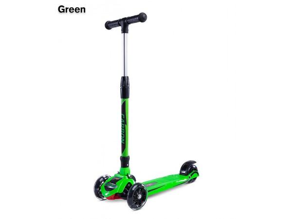 Самокат Caretero Carbon green