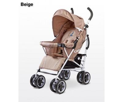 Детская прогулочная коляска Caretero Spacer beige
