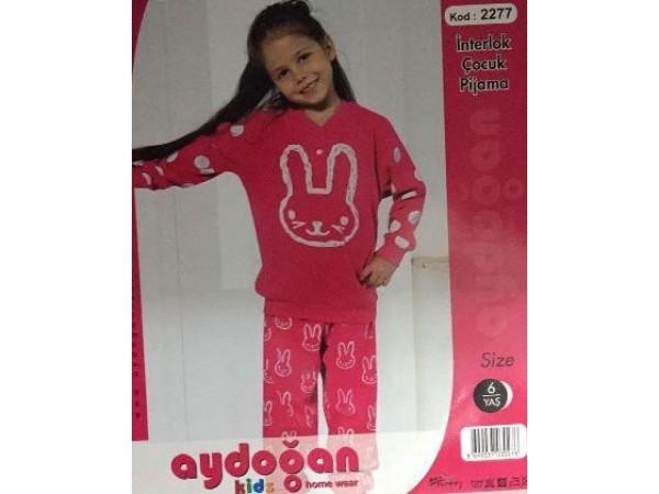 Пижама для девочки Aydogan арт. 2277