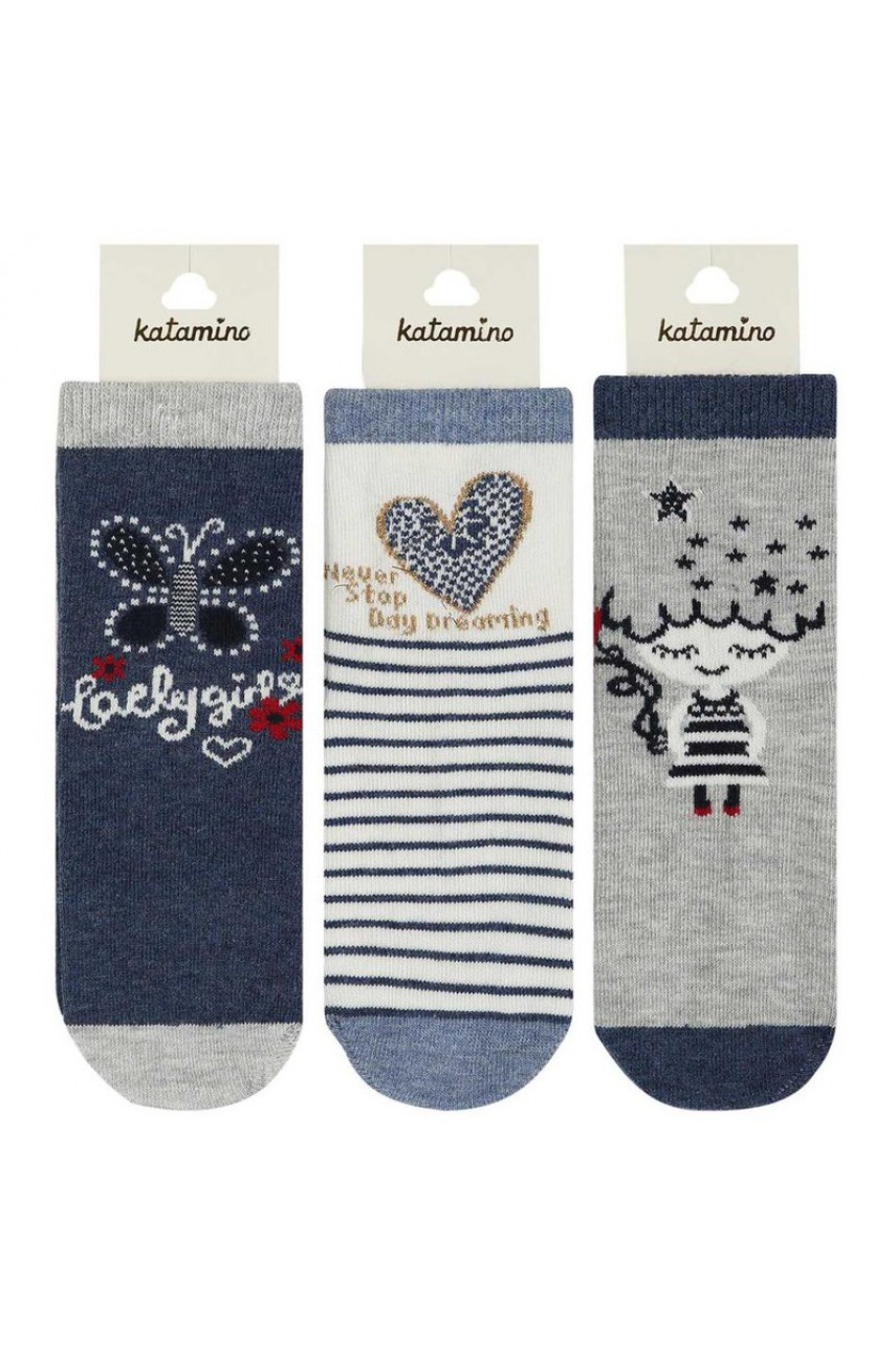 Детские носки для девочки ARTI_katamino арт. k20134
