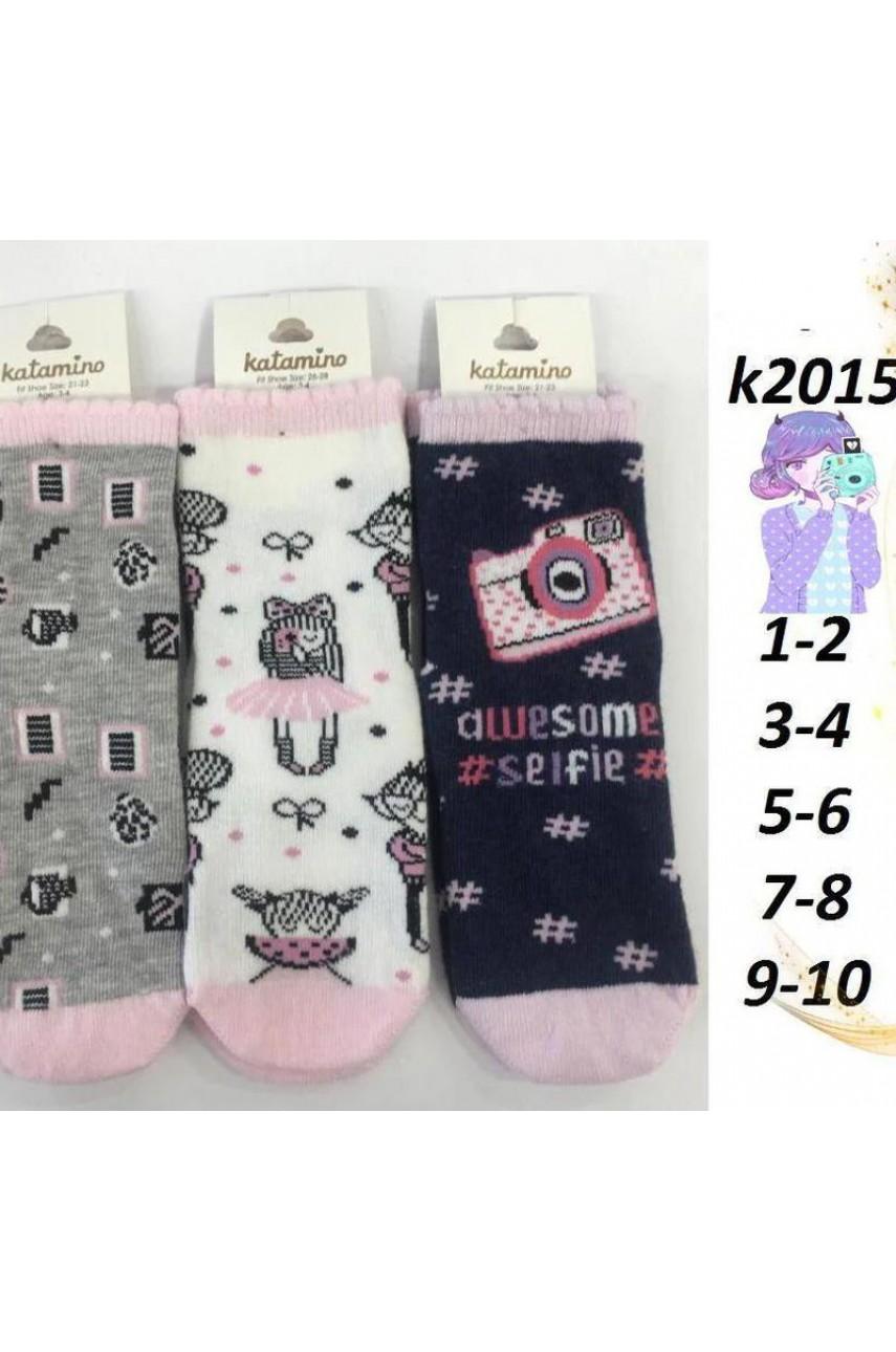 Детские носки для девочки ARTI_katamino арт. k20150