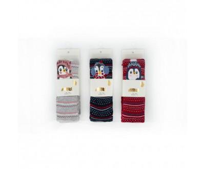Детские колготы для девочки - махровые ARTI_katamino арт. 350058