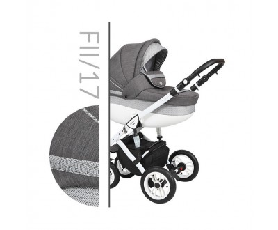 Детская универсальная коляска 2 в 1 Baby Merc Faster Style II Fll/17C