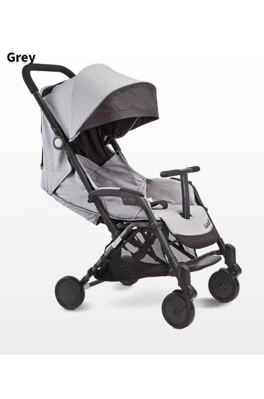Детская прогулочная коляска Caretero Aviator grey