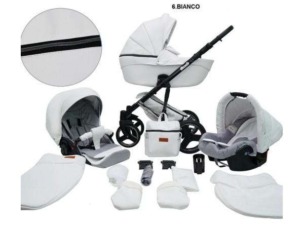 Детская универсальная коляска 2 в 1 Mikrus Comodo Silver 06