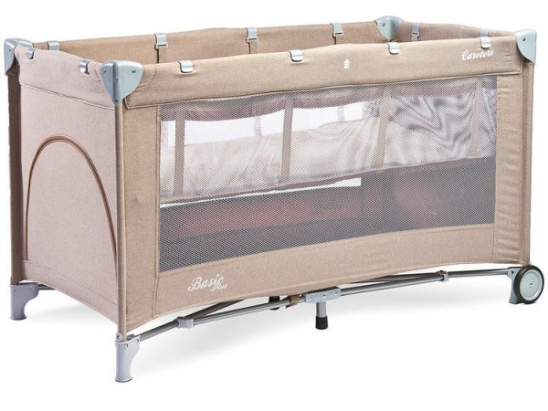 Детский манеж-кровать Сaretero Basic Plus beige