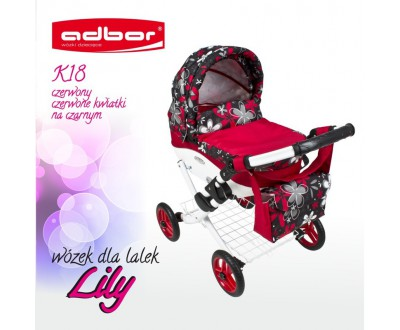 Коляска для кукол Adbor Lily K18