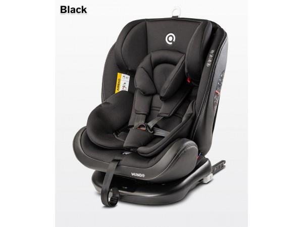 Детское автокресло Caretero Mundo isofix black 0-36 кг