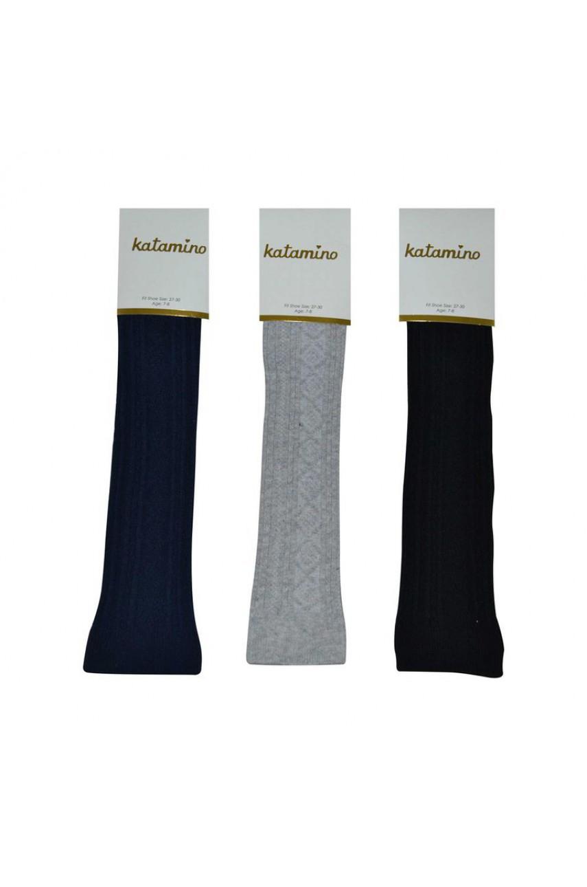 Детские носки- подколенники для девочки ARTI_katamino арт. k80002