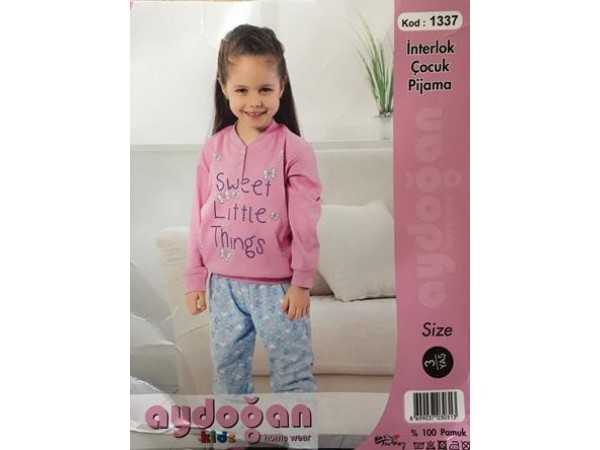 Пижама для девочки Aydogan арт. 1337