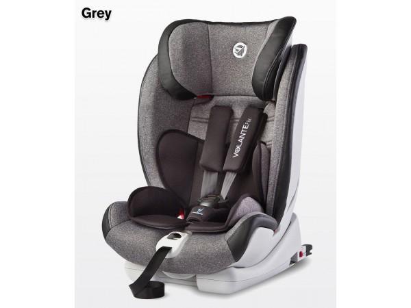 Детское автокресло Caretero VolanteFix Limited Isofix grey 9-36кг