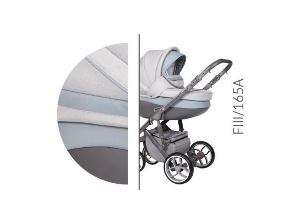Детская универсальная коляска 2 в 1 Baby Merc Faster Style 3 FIII/165A