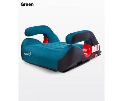 Десткое автокресло-бустер Caretero Puma isofix green 15-36 кг
