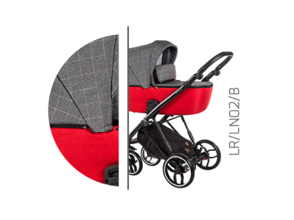 Детская универсальная коляска 2 в 1 Baby Merc La Rosa LR/02B
