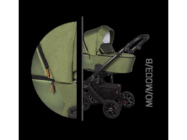 Детская универсальная коляска 2 в 1 Baby Merc Mosca MO/03B