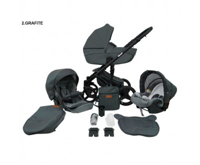 Детская универсальная коляска 2 в 1 Mikrus Comodo 2