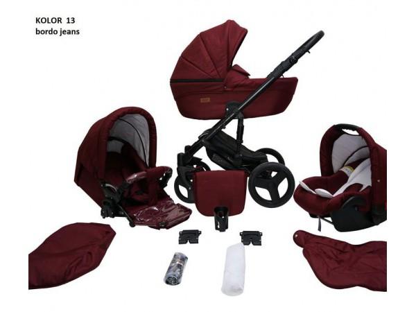 Детская универсальная коляска 2 в 1 Mikrus Genua 13