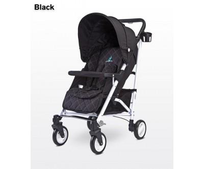 Детская прогулочная коляска Caretero Sonata black