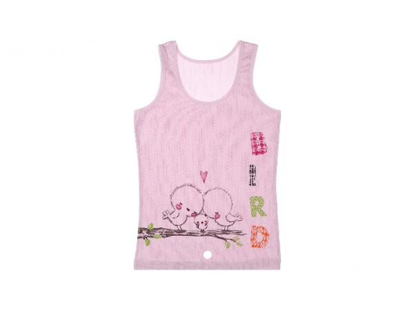 Детские майки для девочек Donella арт. 43395BBR