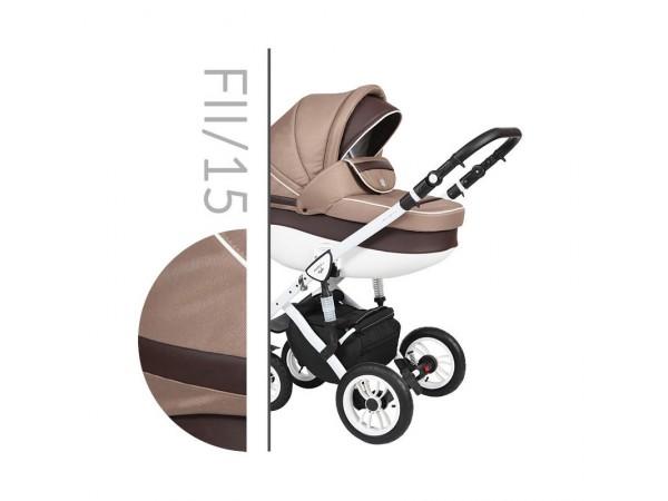 Детская универсальная коляска 2 в 1 Baby Merc Faster Style 2 Fll/15C