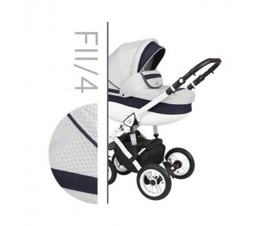 Детская универсальная коляска 2 в 1 Baby Merc Faster Style 2 Fll/4C