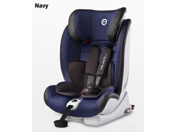 Детское автокресло Caretero VolanteFix Limited Isofix navy 9-36кг