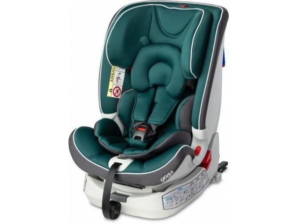 Детское автокресло Caretero Yoga Isofix green 0-36 кг