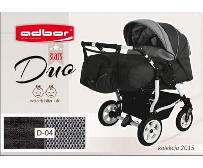 Детская коляска для двойни Adbor Duo stars D 04