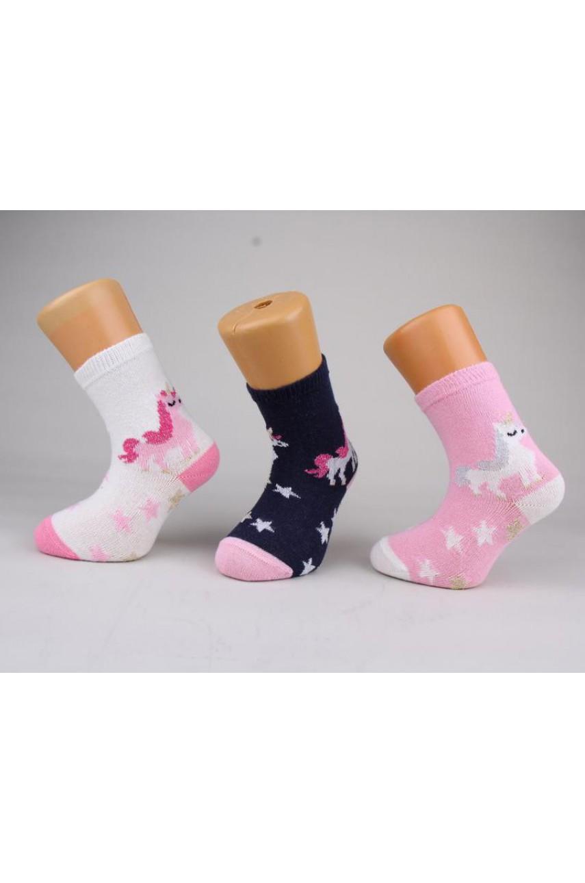 Детские носки для девочки Baykar арт. 3057-12