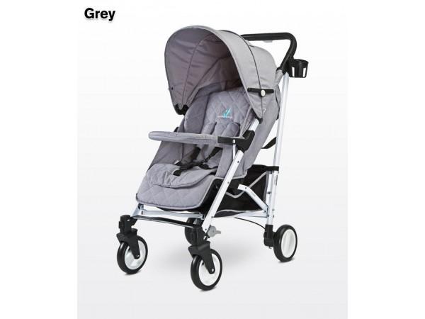 Детская прогулочная коляска Caretero Sonata grey
