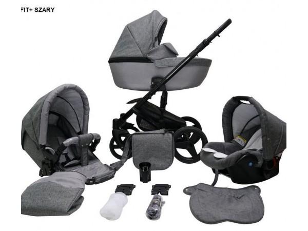Детская универсальная коляска 2 в 1 Mikrus Genua 08