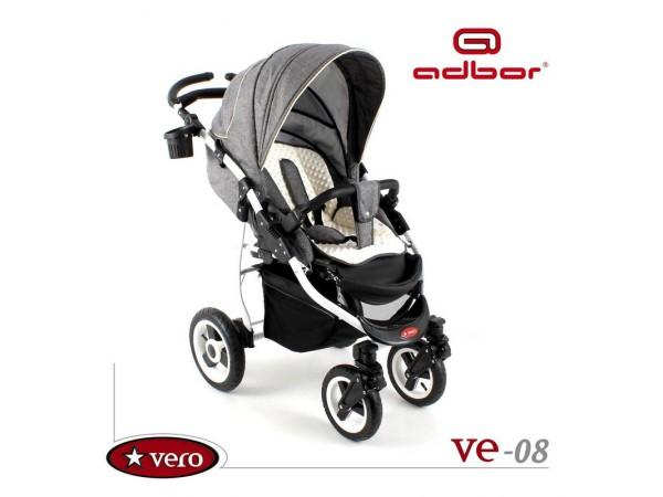 Детская прогулочная коляска Adbor Vero VE-08