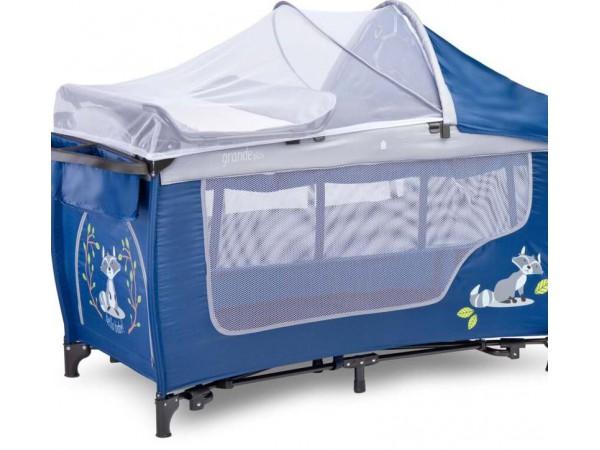 Десткий манеж-кроватка Grande plus navy