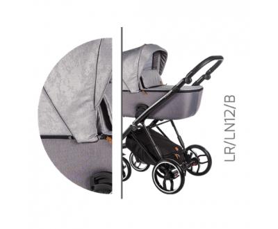 Детская универсальная коляска 2 в 1 Baby Merc La Rosa LR/12B