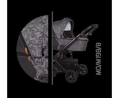 Детская универсальная коляска 2 в 1 Baby Merc Mosca MO/198B