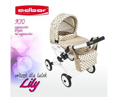 Коляска для кукол Adbor Lily K10