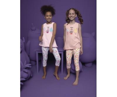 Пижама для девочки Donella арт. 10063