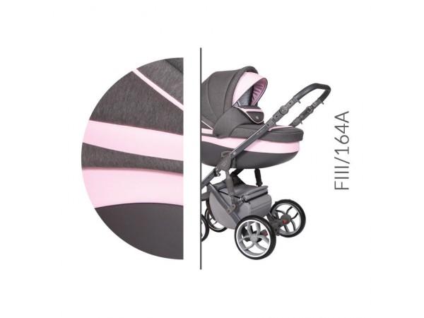 Детская универсальная коляска 2 в 1 Baby Merc Faster Style 3 Flll/164A