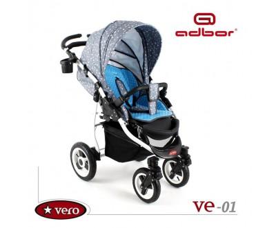 Детская прогулочная коляска Adbor Vero VE-01