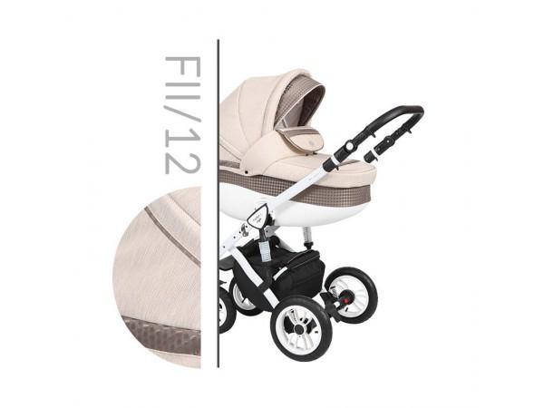Детская универсальная коляска 2 в 1 Baby Merc Faster Style 2 FII/12C