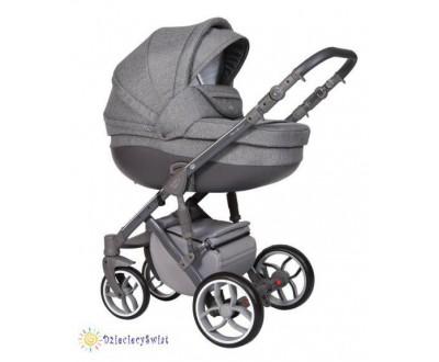 Детская универсальная коляска 2 в 1 Baby Merc Faster Style 3 Flll/163A
