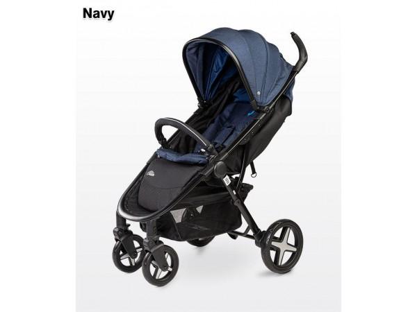 Детская прогулочная коляска Caretero Titan navy