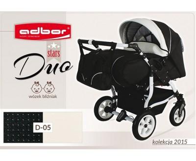 Детская коляска для двойни Adbor Duo stars D 05