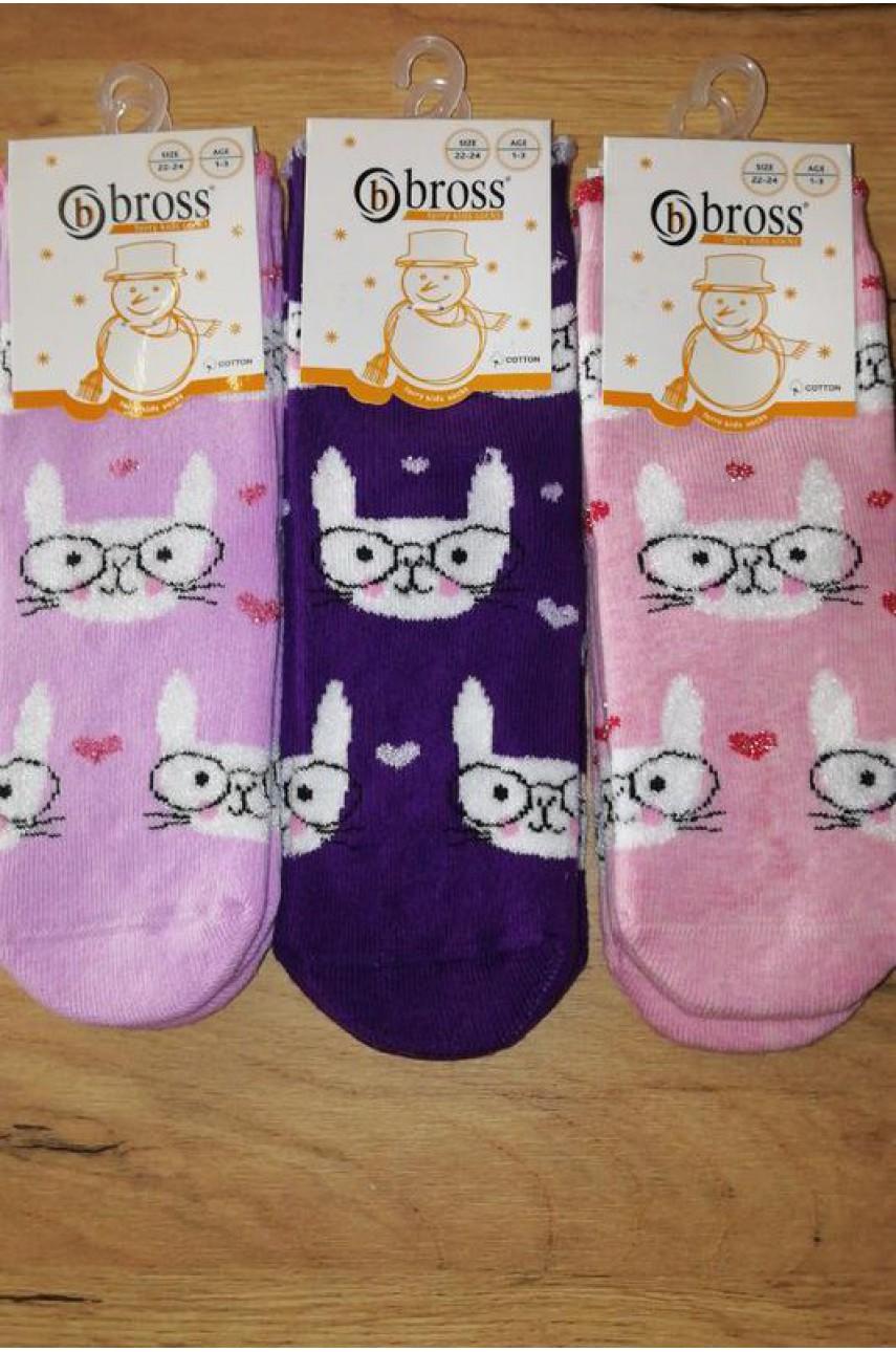 Детские носки для девочки Bross арт. 18351