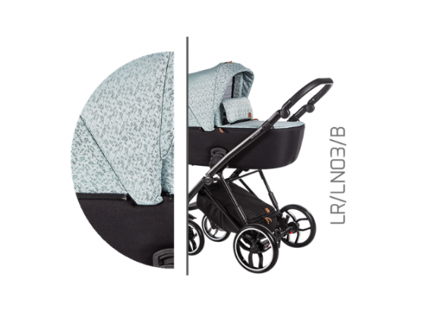 Детская универсальная коляска 2 в 1 Baby Merc La Rosa LR/03B