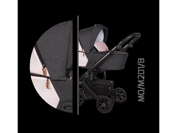 Детская универсальная коляска 2 в 1 Baby Merc Mosca MO/201B